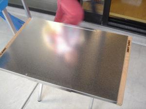 焚火テーブル