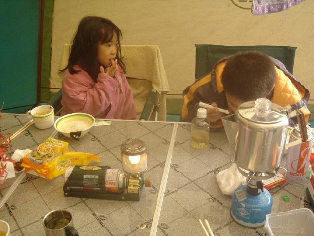 山鳥の森オートキャンプ場 朝食