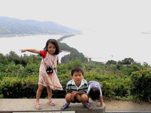 日本三分の二景の旅