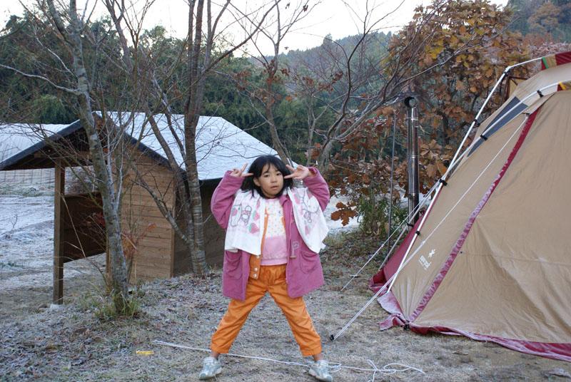 山鳥の森オートキャンプ場 カナちゃん