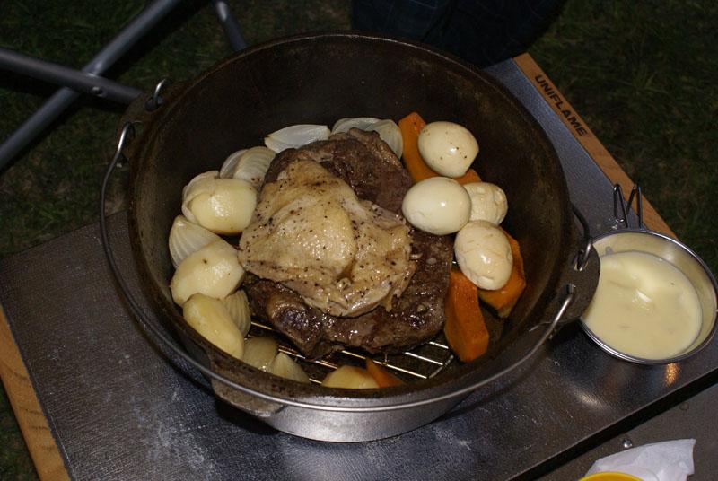 ダッチオーブン ローストビーフ