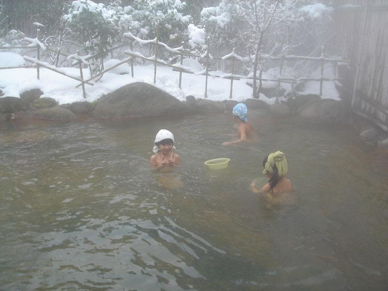 山鳥の森オートキャンプ場 露天風呂