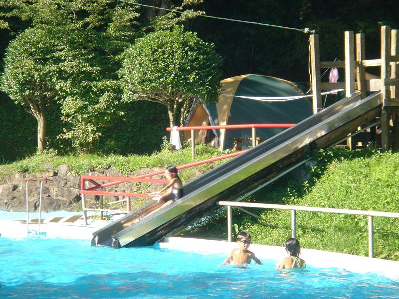 阿蘇ファンタジーの森 プール 滑り台
