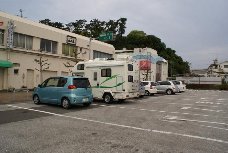 桂浜 キャンピングカー 車中泊