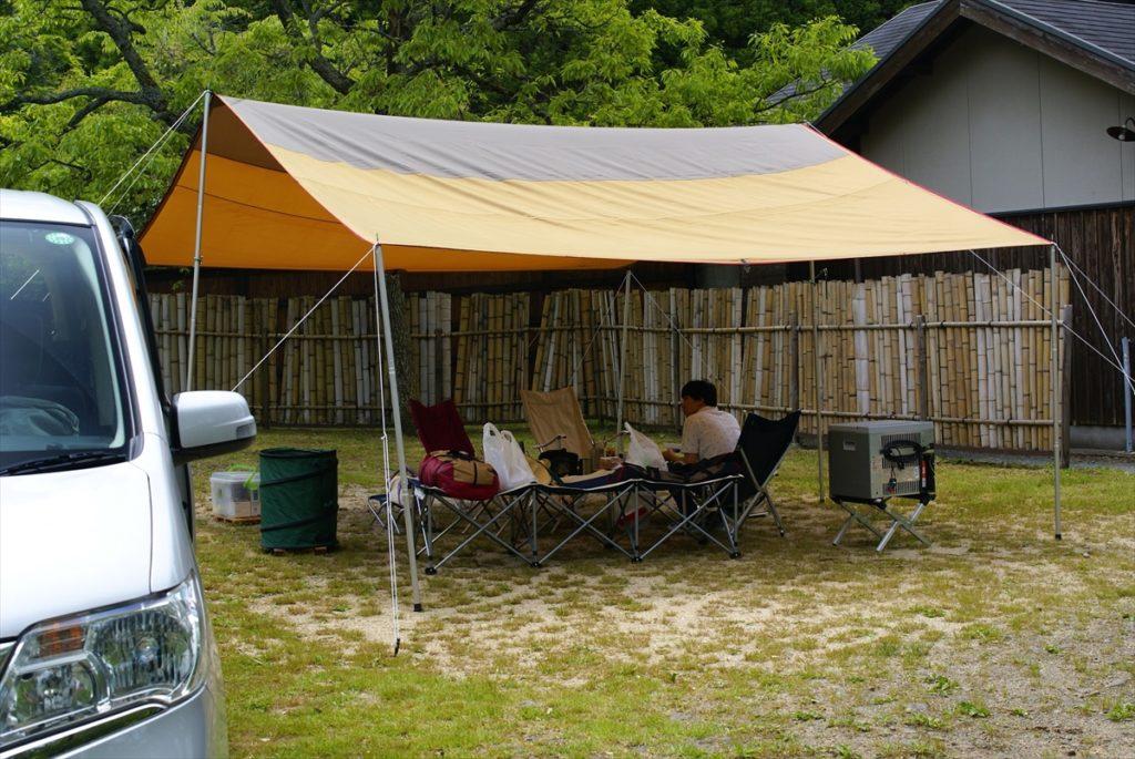 レクタL 温泉横 山鳥の森オートキャンプ場