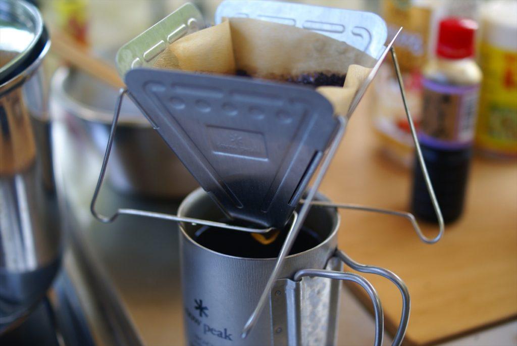 焚火台型コーヒードリッパー