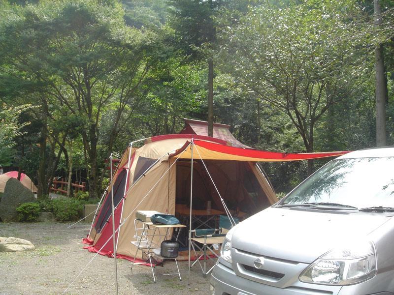 黒木民宿キャンプ場 リビングシェル