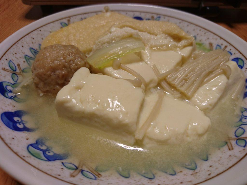 温泉豆腐鍋