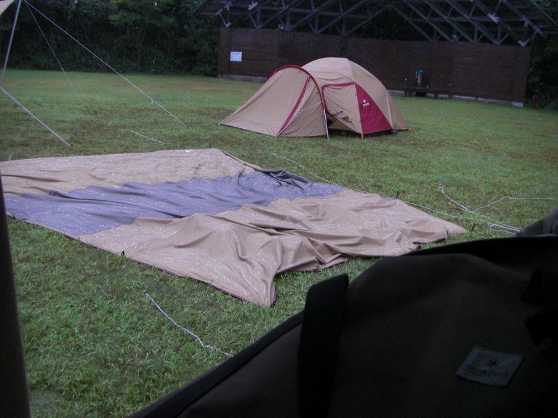 キャンプ嵐