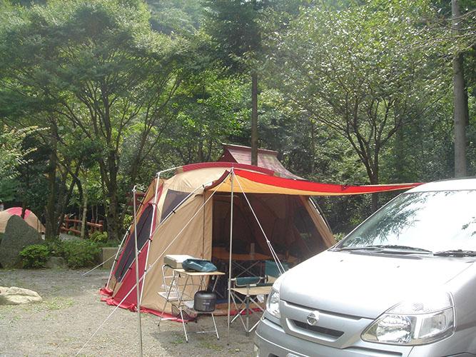 黒木民宿所キャンプ場