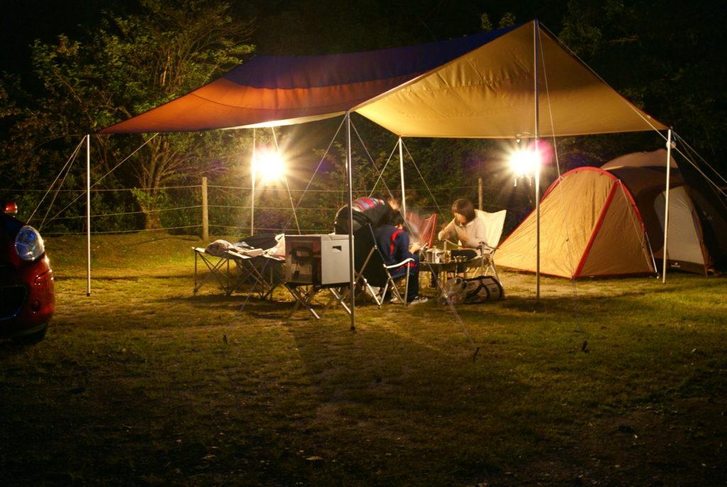 山鳥の森オートキャンプ場ファミリーキャンプ