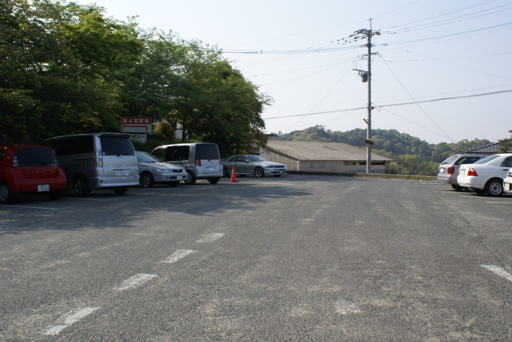 竈門神社駐車場