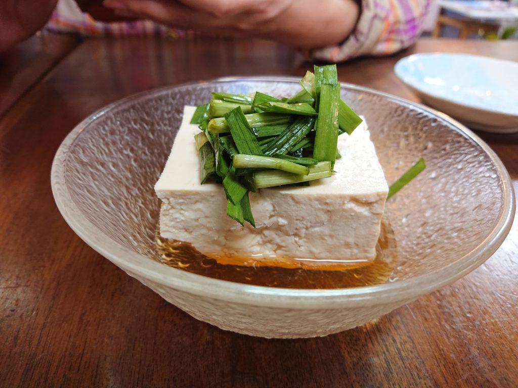麺菜酒家あすからーめん 豆腐