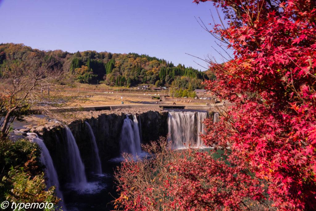 原尻の滝 紅葉