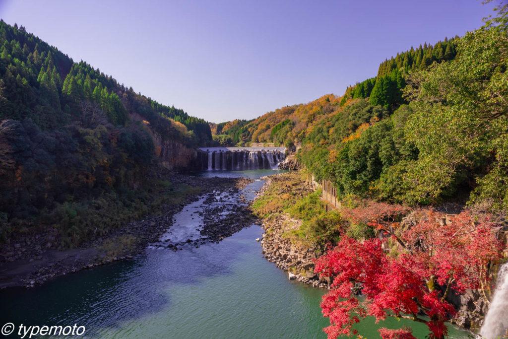 沈堕の滝 紅葉