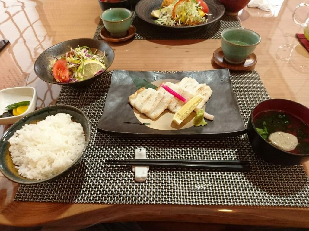 あなご亭 アナゴの白焼定食
