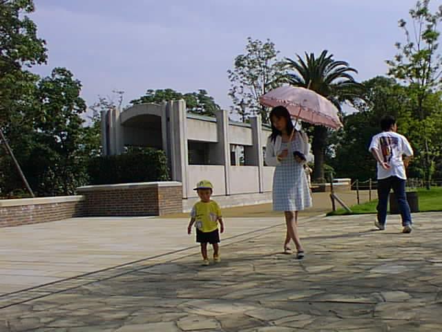 平和記念公園 リン子 ダイキ
