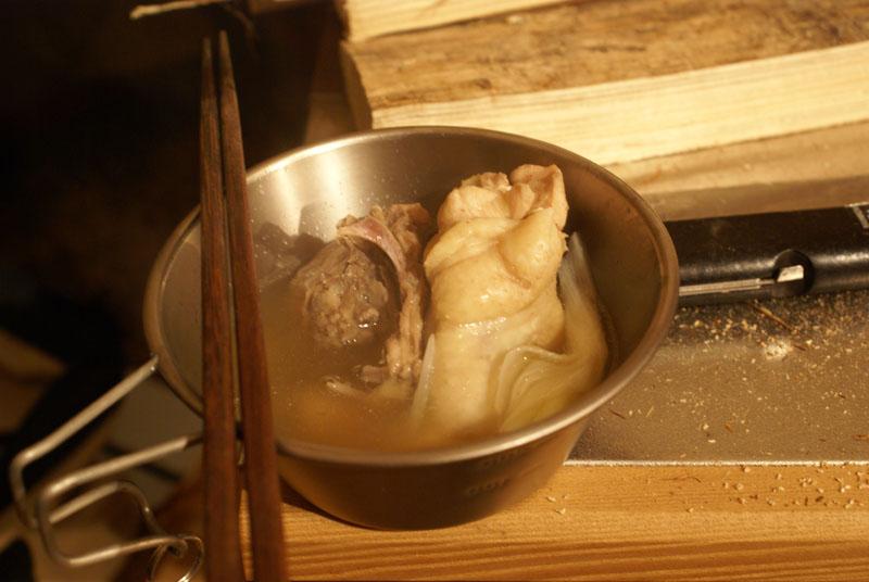 シェラカップ 水炊き