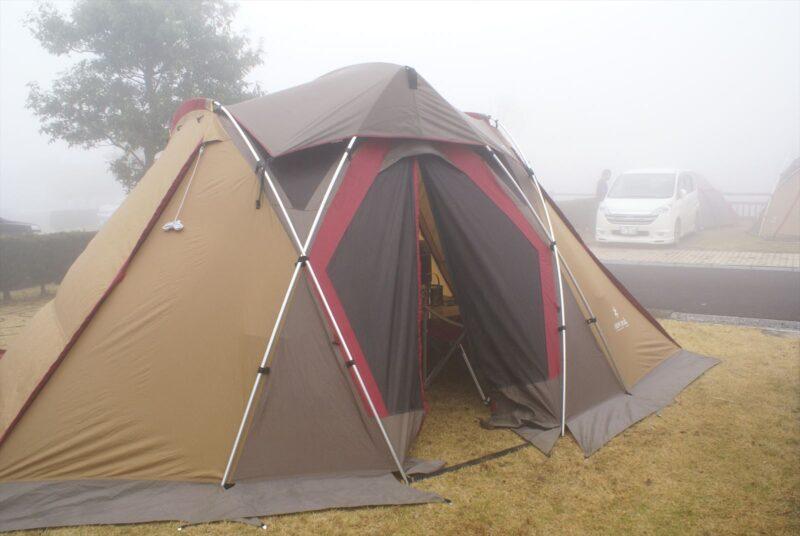 ひなもりキャンプ場 リビングシェル