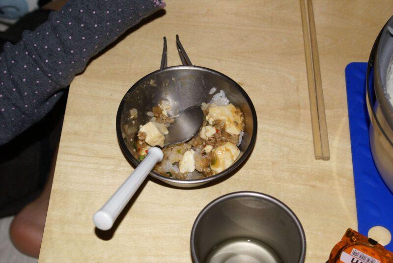 シェラカップ 麻婆丼