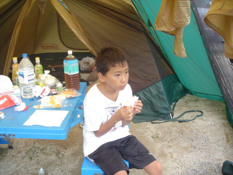 三日月の滝公園キャンプ場 ダイキ