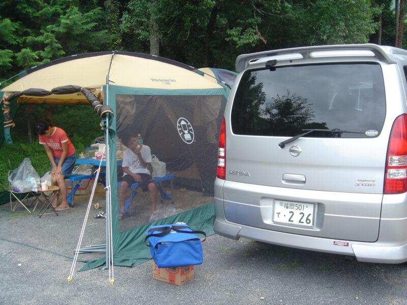 三日月の滝公園キャンプ場