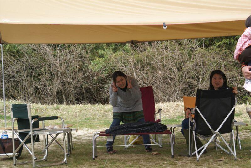 山鳥の森オートキャンプ場 まゆちゃん こりきさん