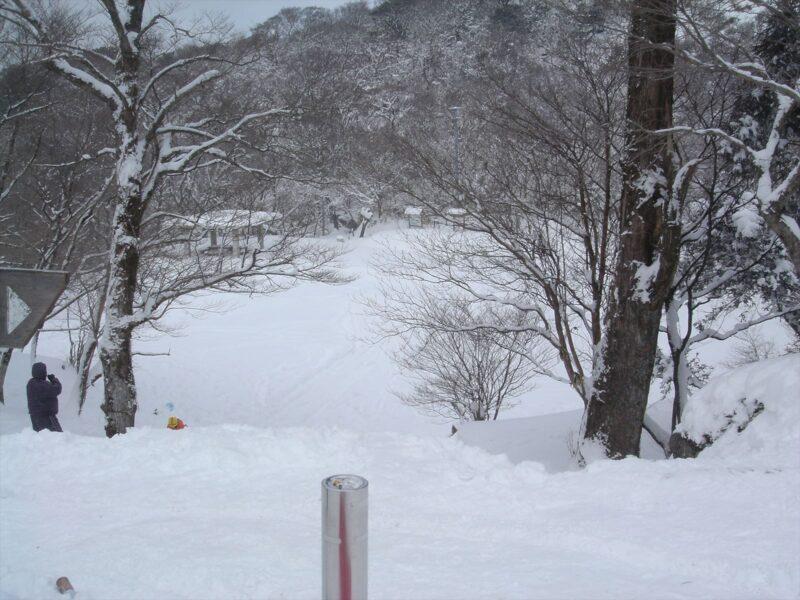 背振山 雪