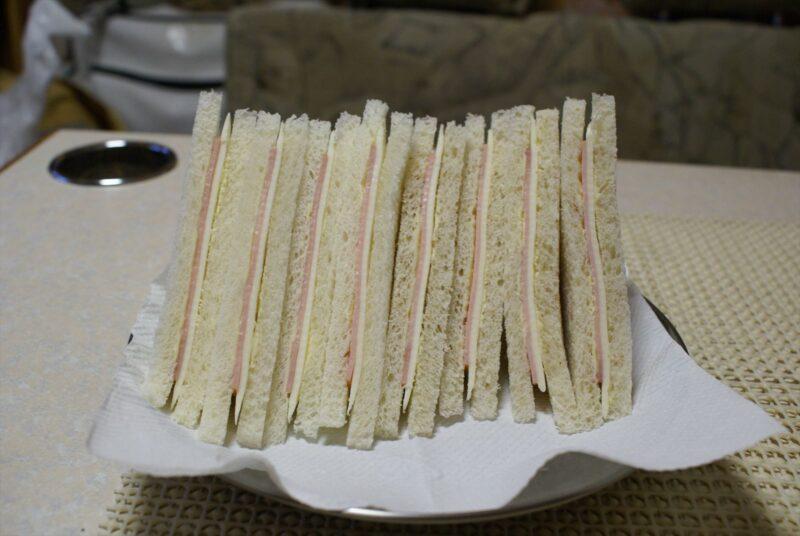 吉野山キャンプ場 サンドイッチ