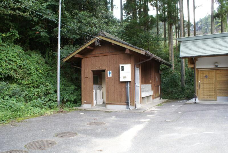 岩屋キャンプ場 トイレ