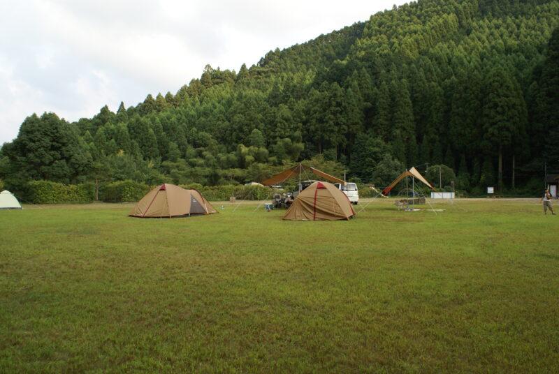 岩屋キャンプ場 アメニティードーム