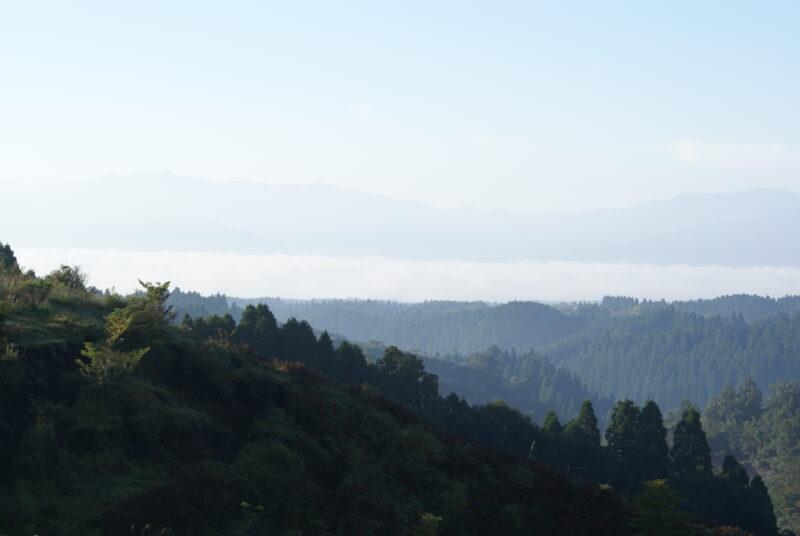 歌瀬キャンプ場 雲海