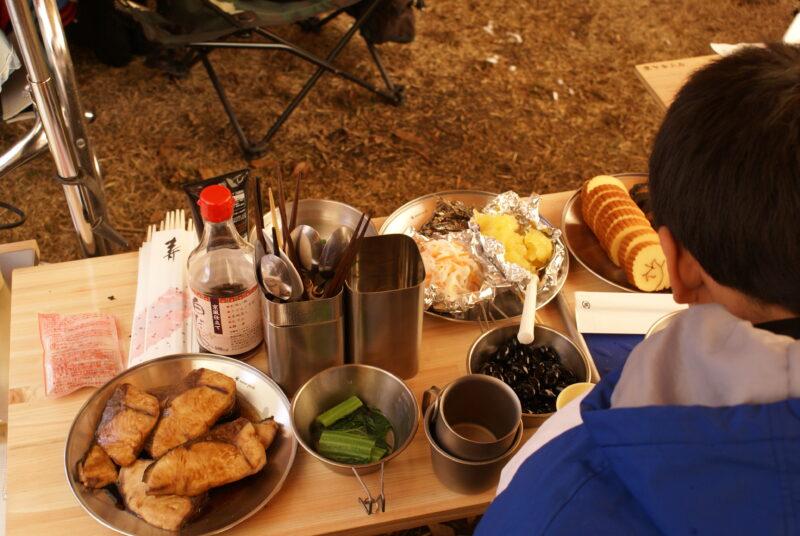 山鳥の森オートキャンプ場 おせち料理