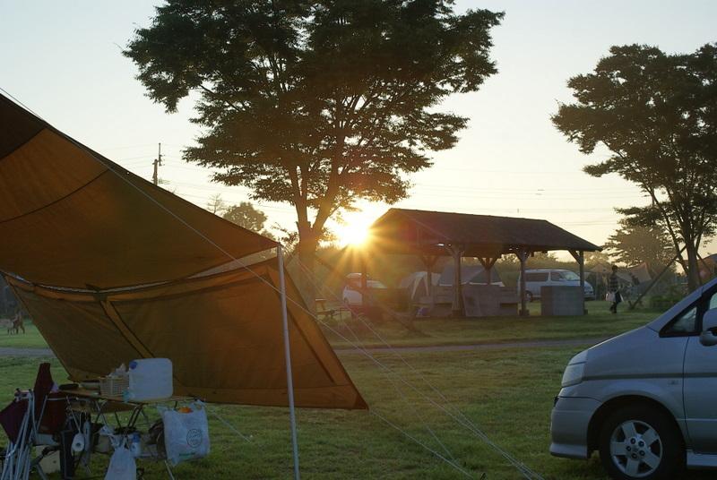 オートキャンプ場高原の里 日の出