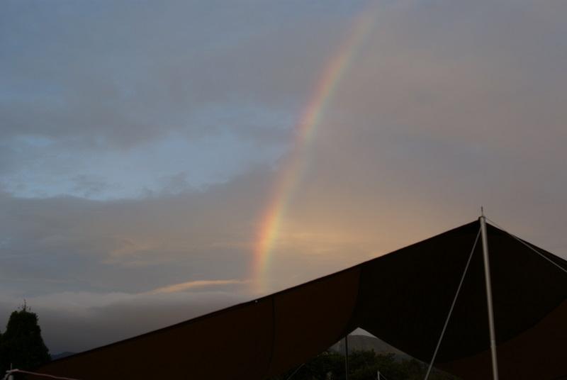 オートキャンプ場高原の里 レクタL 虹