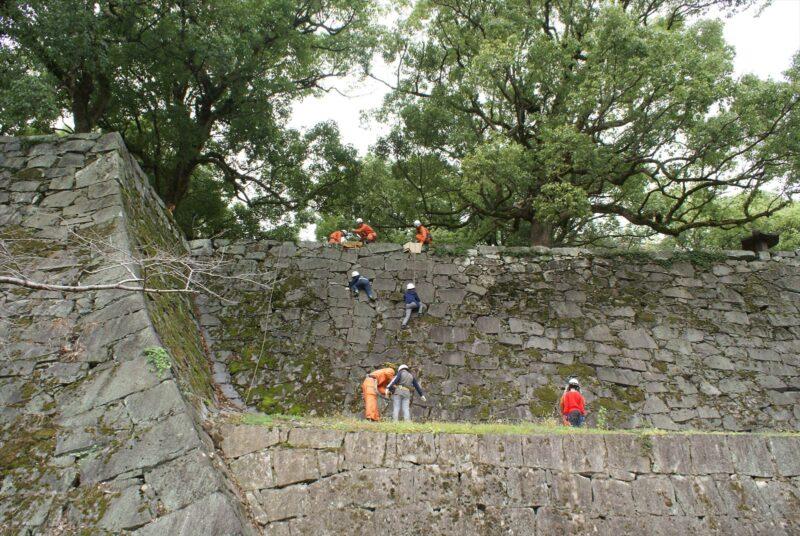 熊本城 石垣