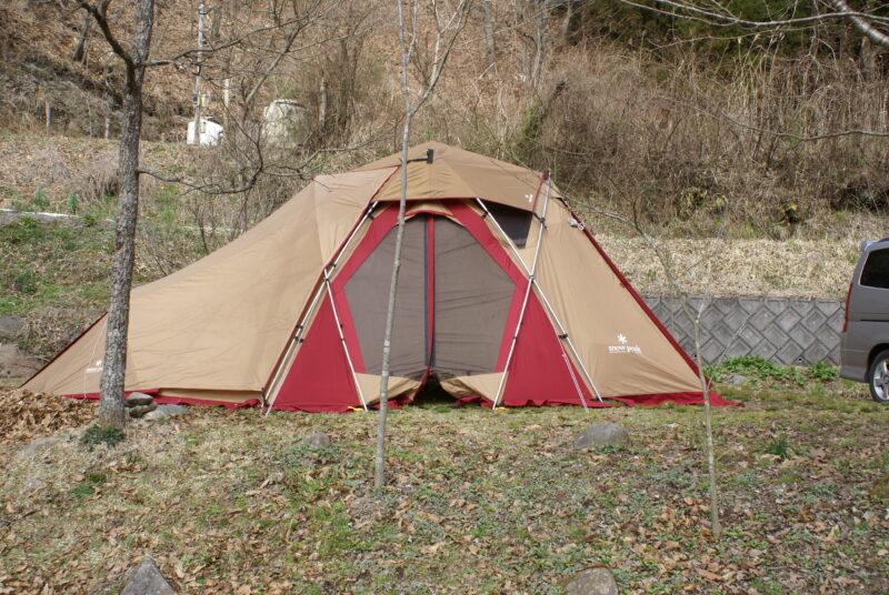 山鳥の森オートキャンプ場 リビングシェル