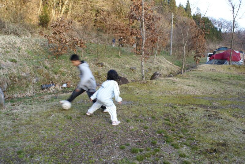 山鳥の森オートキャンプ場 ダイキ チカ