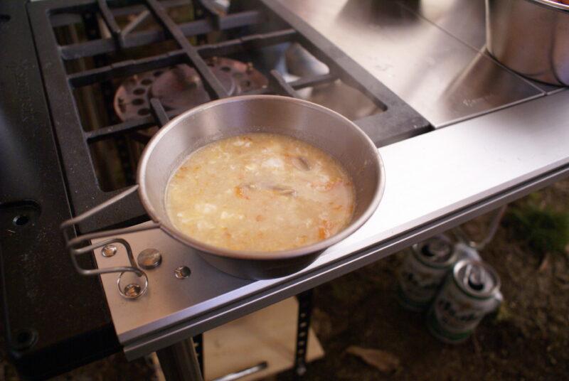 シェラカップ タマゴスープ