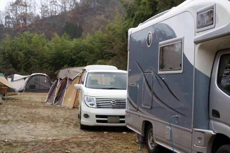 山鳥の森オートキャンプ場 フリーCサイト