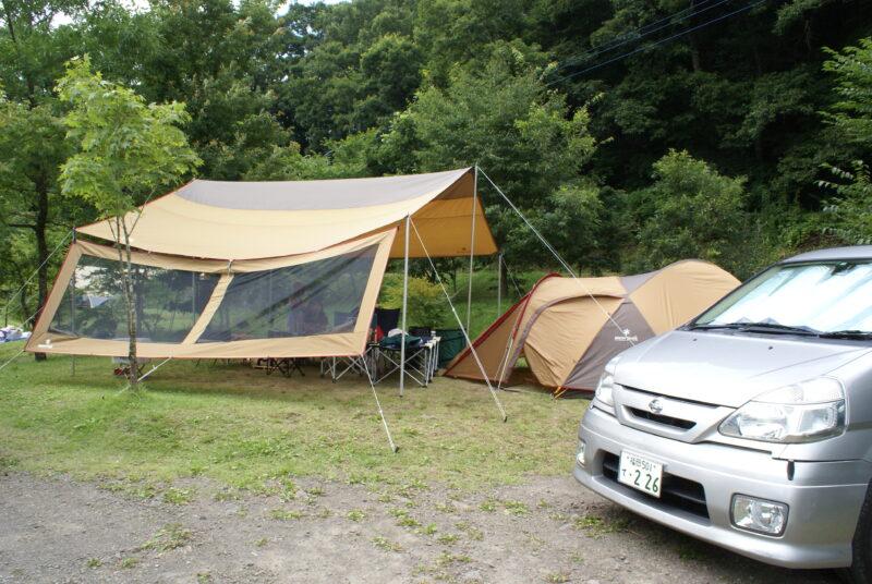 山鳥の森オートキャンプ場 レクタL アメニティドーム