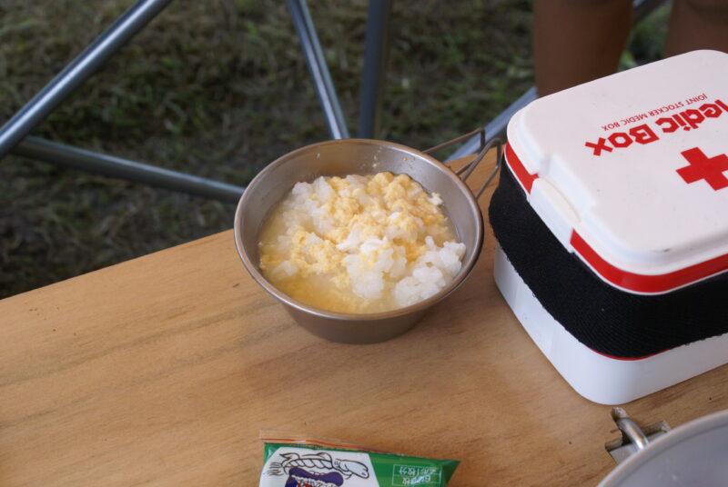 タマゴスープご飯