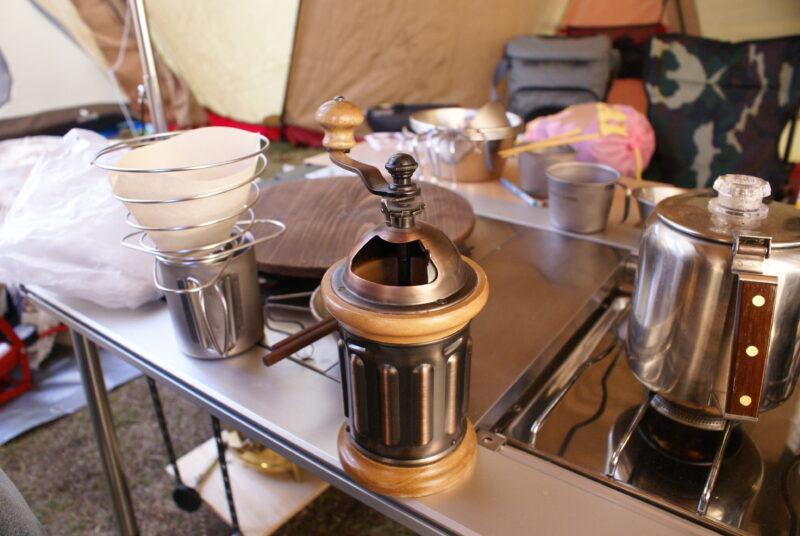 カリタコーヒーミル コーヒーバネット