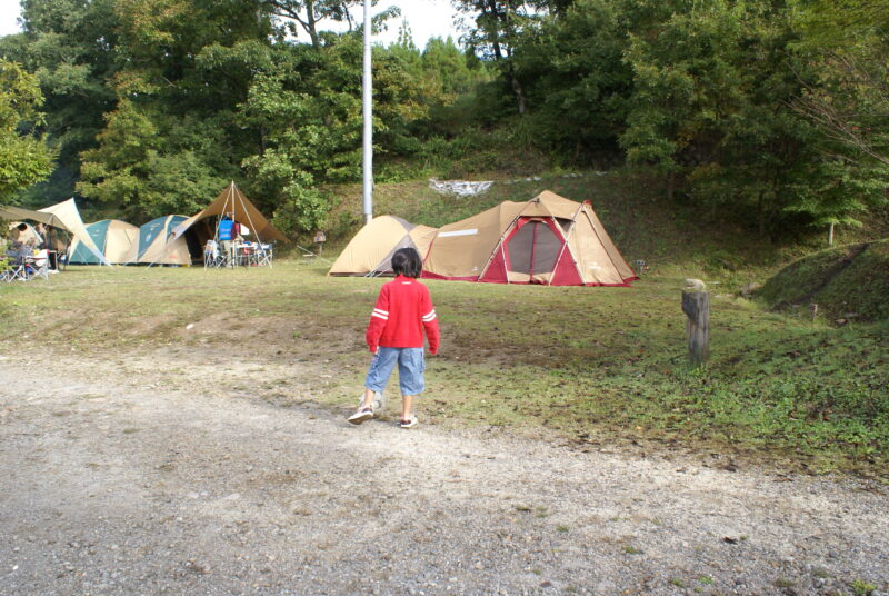 山鳥の森オートキャンプ場 チカ