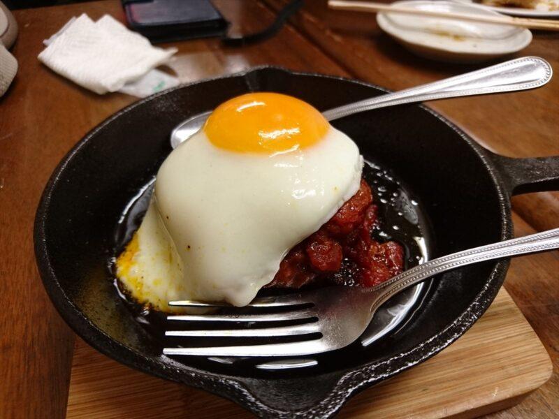 麺菜酒家あすからーめん 高千穂牛ハンバーグ