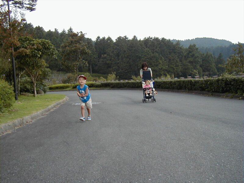 夜須高原 上り坂