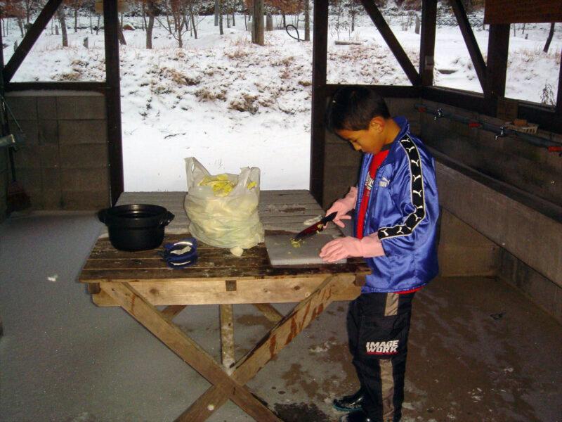 山鳥の森オートキャンプ場 炊事棟