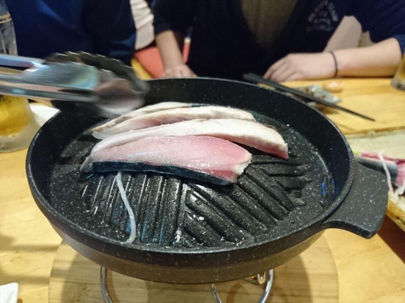 伊奈サバ 塩焼き