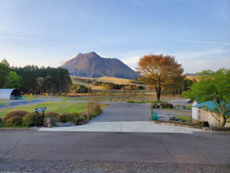 熊谷牧場 由布岳