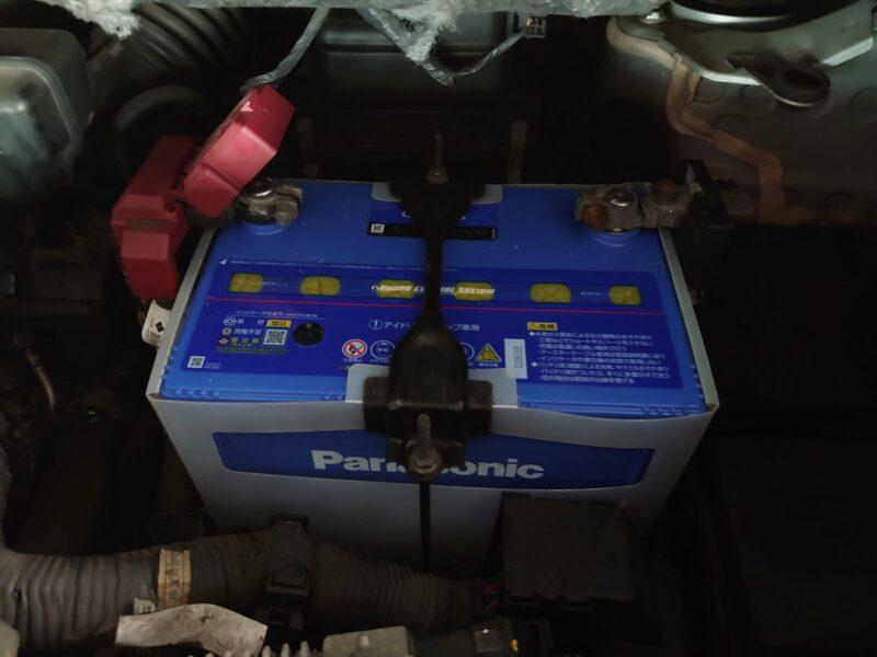 TC26セレナ 新バッテリー
